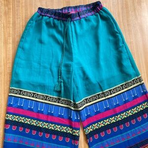 Colorful Palazzo patterned pants